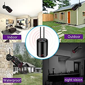 SWINWAY-Wireless-Security-Camera-System-Wireless-CCTV-Camera-Systems-with-4-x-20MP-Outdoor-HD-1080P-IP-Camera-Night-vision-Easy-Remote-View-Motion-Detection-1TB-Surveillance-Hard-Drive-ANRAN