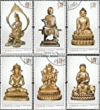 Prophila Collection Volksrepublik China 4483-4488 (kompl.Ausg.) 2013 Buddhafiguren (Briefmarken für Sammler)