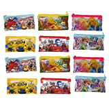 #2: Parteet Birthday Party Return Gifts Mix Stationery Kit Set in a Zipper Bag for Kids (Pack of 12)