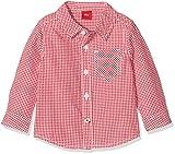 s.Oliver Baby-Jungen Hemd 59.707.21.6922, Rot (Red Check 35N0), 92