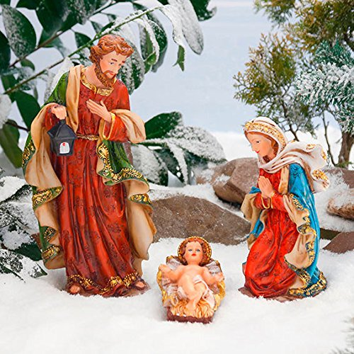 Gärtner Pötschke Außen-Krippenfiguren, Set Heilige Familie