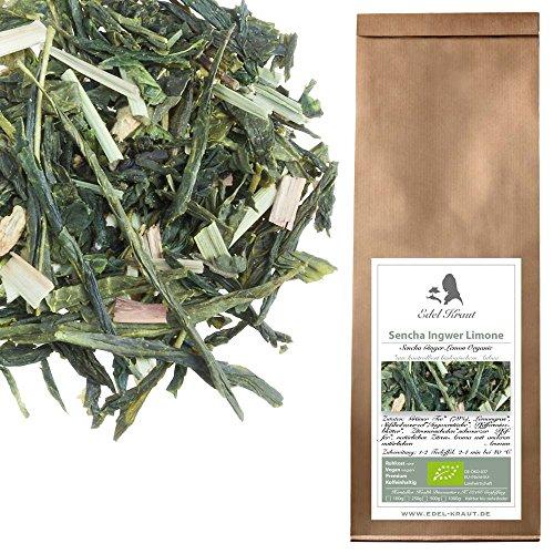 Preisvergleich Produktbild EDEL KRAUT | BIO Grüner Tee Sencha Ingwer Limone - Premium Green Tea Sencha Ginger Lemon Organic 500g