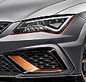 Devil Eye® Scheinwerfer Folie von Finest-Folia Stripe für Seat Ibiza Cupra ST SC 6J RS Folie