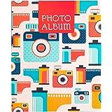 Álbum fotos 13x20 - Álbum Vintage Camera 48 bolsillos
