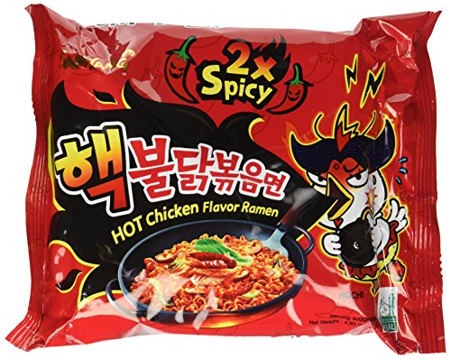 Samyang Hek Buldak Extra Spicy Roasted Chicken Ramen Nuclear Edition 10 Pack