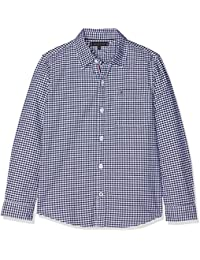 Tommy Hilfiger Jungen Hemd Essential Oxford Gingham Shirt L/S