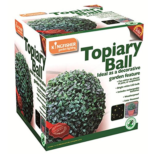 Image of Kingfisher  Solar Powered LED Topiary Ball
