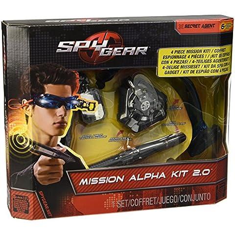 Spy Gear - 6022195 - Accesorios Disfraces - Accesorios Set On - Set Alpha Mission