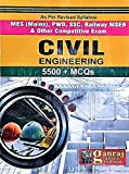 Civil Engineering 5500+ MCQs for MES, PWD, SSC, Railway and All Competitive Exams
