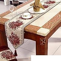 corridore della tabella European-style/ tavolo da pranzo panno/ Cinese prendere l'asciugamano/ tovaglia/letto corridore/tovaglia/panno che copre/striscia decorativa/ tavolo/tovaglia-B 33x240cm(13x94inch)