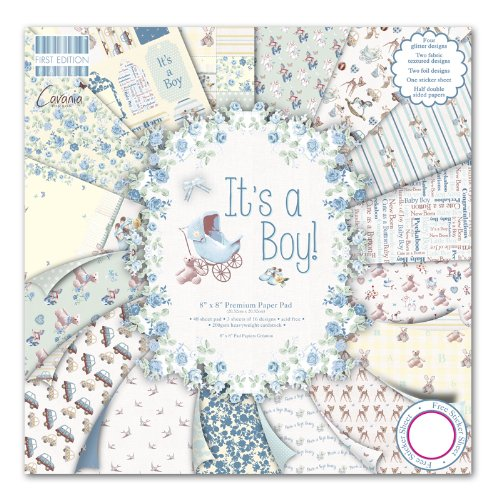First Edition It's a Boy Premium Paper Pad 8