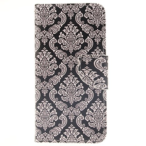 Nutbro iPhone 6s Case,4.7 inch Wallet Case, Premium PU Leather Flip Case for iPhone 6 Case,with Built-in Credit Card Slots Magnetic Flip Cover for iPhone 6s 4.7 inch ZZ-iPhone-6S-42