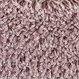 Teppichboden Auslegware Meterware Hochflor Shaggy Langflor Velour rosa lila 400 und 500 cm breit, verschiedene Längen