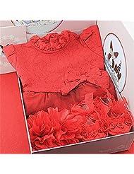 SHISHANG Regalo del bebé Caja de regalo Regalos del bebé de la muchacha del muchacho para 0-12 meses Newborn 100% algodón Bolso del regalo de cuatro estaciones , 66cm (0-3 months)