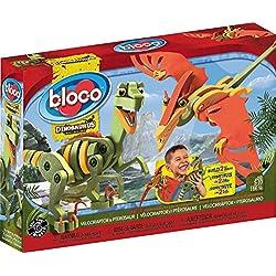 Kanaï Kids kkbc20001–Bloco–dinosaurios–Velociraptor & ptérosaure