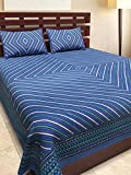 #8: Jaipuri Style Cotton Double Bedsheets With 2 Pillow Cover