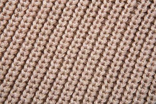 Nuova moda autunno cappotto selvaggio spalla di dispersione solida maglione maglione pullover Donne White