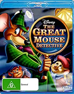 Basil the Great Mouse Detective Blu-Ray