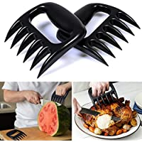 AGPtEK® BBQ Barbecue Kitchen Claws Meat Bear Paw Claws for Shredding Chicken Pork (Easy to clean and compact)set of 2