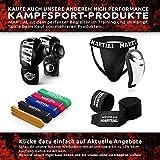 MMA Handschuhe Profi – professionelle Qualität – hochwertige Konstruktion – Boxen, Training, Sandsack, Boxsack, Freefight, Grapling, Kampfsport – Schwarz – Boxhandschuhe - 6