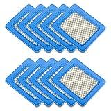 OuyFilters Ersatz-Luftfilter für Honda Gc135 Gcv135 Gc160 Gcv160 Gc190 Gcv190 Gx100 Engine 17211-ZL8-023, 17211-ZL8-003 & 17211-ZL8-000