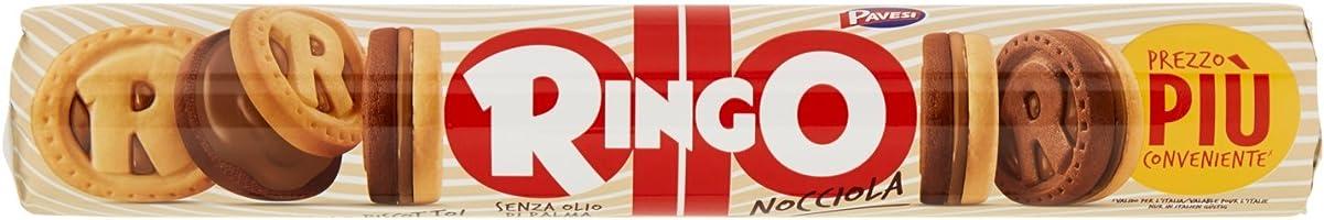 Ringo Biscotti, Nocciola - 6 pezzi da 155 g [930 g]
