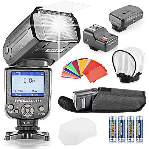 neewerr-nw-985n-i-ttl-4-color-tft-screen-display-hss-camera-slave-flash-speedlite-kit-for-nikon-d3s-
