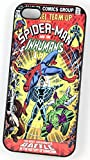 Spiderman et le Inhumans DC Marvel Super-héros Comic Coque Vintage pour iPhone 5/5s...