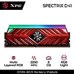XPG AX4U320038G16-SR41, RAM, 8 GB, Kırmızı