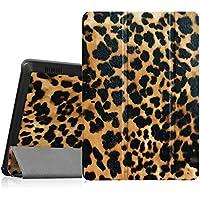 Fintie Fire HD 7 (2014 Modell) Hülle - Ultradünne Lightweight Schutzhülle Tasche Case mit Auto Schlaf / Wach Funktion Standfunktion nur geeignet für Kindle Fire HD 7-Inch Tablet (4. Generation), Leopard Braun