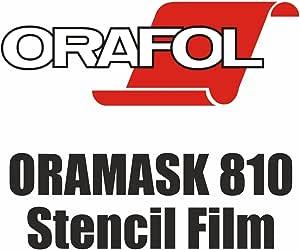 Oramask 810 5 15 M Airbrush Schablonenfolie Maskierfolie Folie 5m X Breite Nach Wahl 31cm X 500cm Auto
