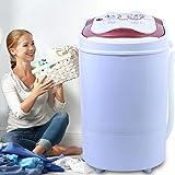 Mini machine à laver de voyage - 4 kg - 54 x 35 x 34 cm - Portable - Pour les célibataires, les étudiants, les campeurs