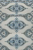 3 Keramikfliesen bunte Wandfliesen Mosaikfliesen marokkanische Fliesen (Settat 758) blau weiß