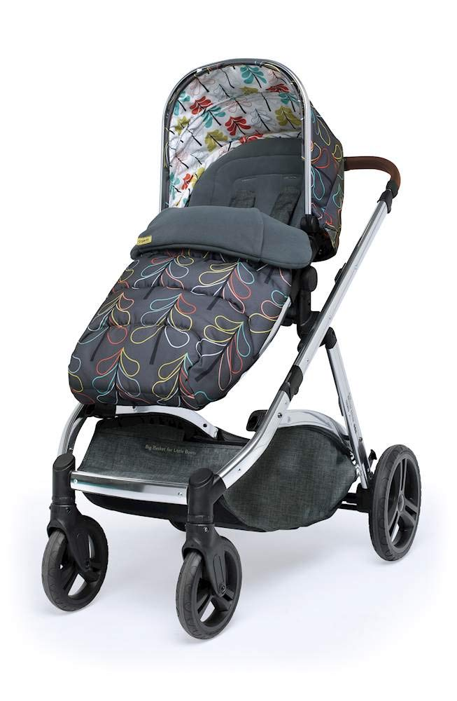 Cosatto Wow XL 3-in-1 Pram and Pushchair, Suitable from Birth - 25 kg, with Tandem Mode and Buggy Board- Nordik Cosatto The flexible family unit, Wow XL has the capability, straight out of the box, to be used as a single child travel system (3-in-1) or as a double/tandem for an older sibling too, with no need to buy any extras (box includes: 1 x Carrycot and 1 x Seat unit) The spacious carrycot is comfy, with extra padded mattress and apron; easy to manoeuvre with one handed pushbutton carrycot release; swap the from-birth carrycot to reversible pushchair seat when they're ready to sit up; the single pushchair mode supports up to 25 kg so your toddler can use it for even longer; with the added ease of one-handed seat unit recline and integrated calf support; the fully extendable hood with visor is 100 UPF and has a peep hole to keep an eye on little ones High-quality craftsmanship; from woven textured fabrics and discoverable details, to gleaming chrome chassis from significant leatherette handle to exquisite embroideries and felt appliques; each design comes with two cuddly travelling companions, straight from Cosatto's famous storytelling pattern; when you explore together, anything can happen 3