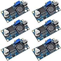 Electrely 6 Stück LM2596 DC zu DC Buck Converter 3,0-40 V zu 1,5-35 V Netzteil Step Down Modul für Arduino