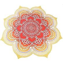 Round Mandala borla pared toalla de playa Yoga Alfombra Mantel pared colgantes, XingYu-XY