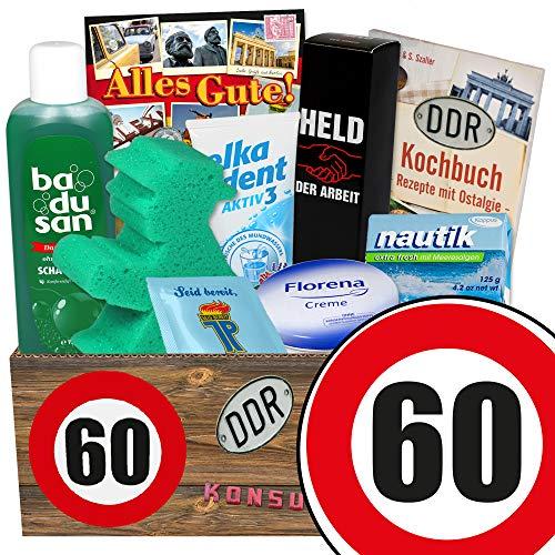 60. Geburtstag | Pflege Set | Geburtstag lustige Geschenke