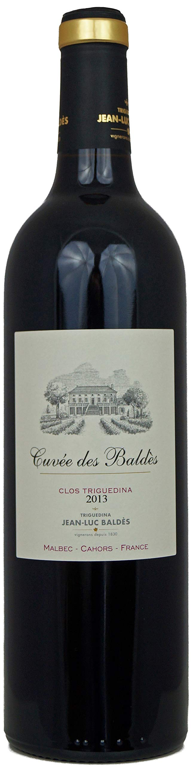 Clos-Triguedina-Rotwein-CahorsCuve-des-Balds-Frankreich-2013