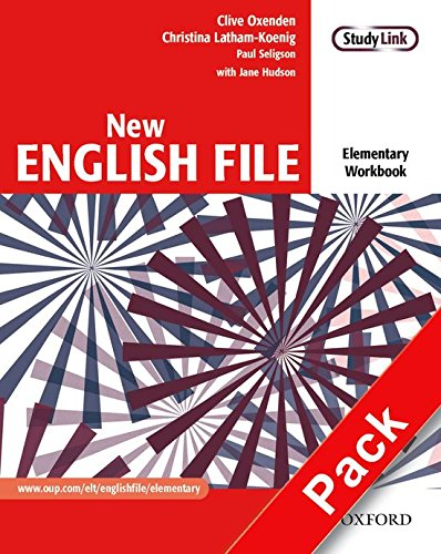 New English File: NWorkbook with key and MultiROM Pack: Six-level general English course for adults: Workbook, MultiROM and Answer Booklet Pack Elementary level (New English File Second Edition)
