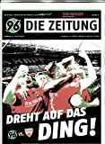 96 Die Zeitung 19 2016/2017 VfB Stuttgart Zeitschrift Magazin Einzelheft Heft Fussball Hannover 96