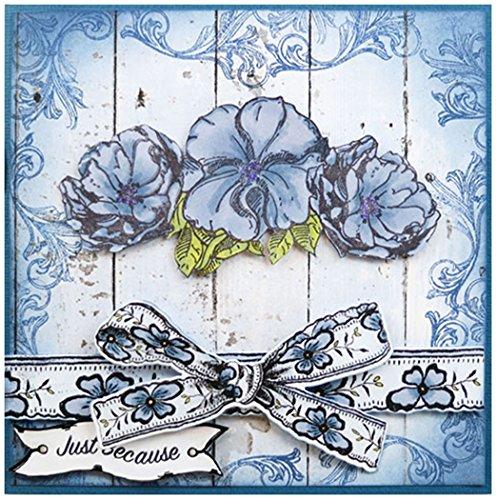 Tattered Lace Ultimate Zusammenarbeit Stempel und Sterben Set-Embellishments, Metall, Silber, 21,1x 1x 1cm