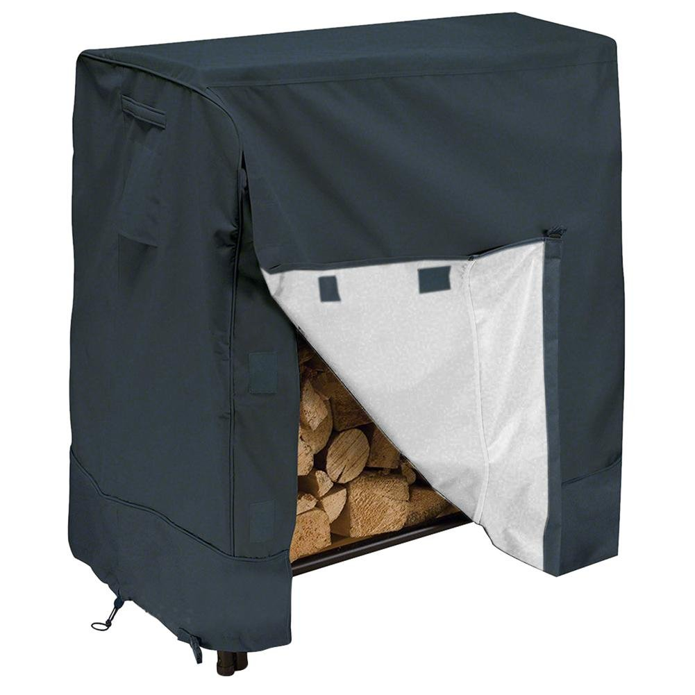 Garden – Estante para leña cubrir (Impermeable, a Prueba de Humedad, Resistente al Polvo, Resistente a los Rayos UV, con…