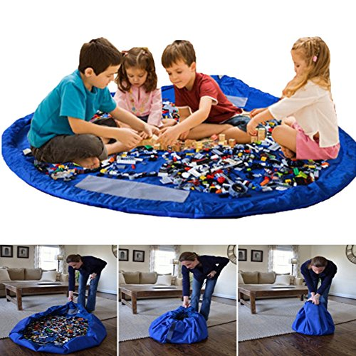 Boonor hijos de limpieza bolsa de almacenamiento de juguete tapete de almacenamiento...