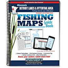 Minnesota Detroit Lakes & Ottertail Area Fishing Maps Guide Book (Fishing Maps from Sportsman's Connection)