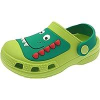 ChayChax Clogs Kids Cute Garden Shoes Boys Girls Comfort Indoor Outdoor Slippers Soft Walking Beach Sandals Toddler…