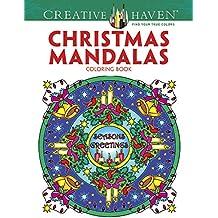 Creative Haven Christmas Mandalas (Creative Haven Coloring Books)