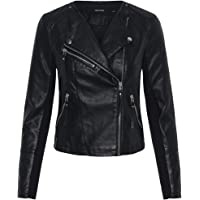 Vero Moda Vmria Fav Short Faux Leather Jacket Noos Giacca Donna