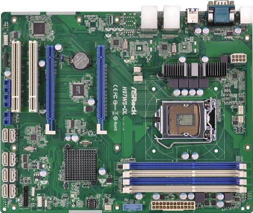 Asrock h87ws-DL Server/Workstation flexiblem 1150Intel H87DDR3, S-ATA 600, ATX, Haswell (Mainboard Ddr3 Server)