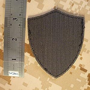 US Marine Navy Seals DEVGRU Crusaders Templar Knight Cross Morale PVC 3D Hook-and-Loop Écusson Patch