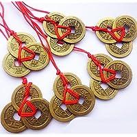 Ricos de la suerte y éxito chino Feng Shui monedas